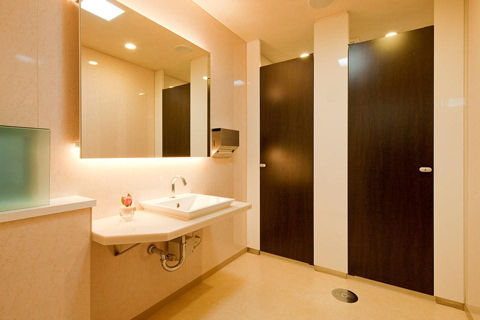 写真:女子トイレ